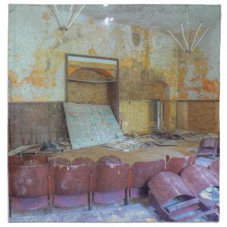 Serviettes De Table Amphithéâtre 01,0, endroits perdus, Beelitz