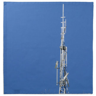 Serviettes De Table Antenne sur le dessus de la montagne contre le