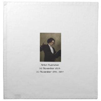 Serviettes De Table Anton Rubinstein 1887