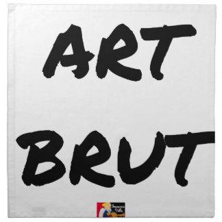 Serviettes De Table art_brut__jeux_de_mots_francois_ville
