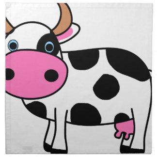 Serviettes De Table art de vache