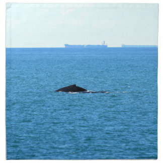 SERVIETTES DE TABLE BALEINE DE BOSSE MACKAY QUEENSLAND AUSTRALIE