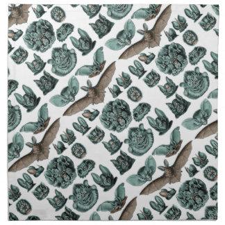 Serviettes De Table Battes par Ernst Haeckel