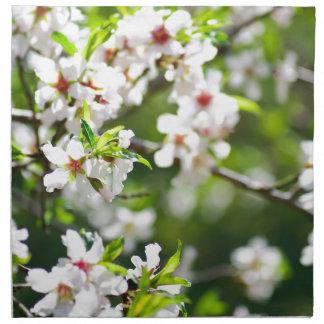Serviettes De Table Branches fleurissantes de l'arbre fruitier