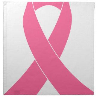 Serviettes De Table breast-cancer-ribbon