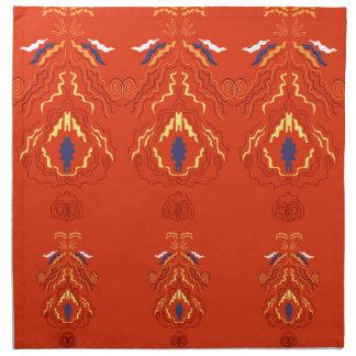 Serviettes De Table Brun de luxe d'édition de mandalas
