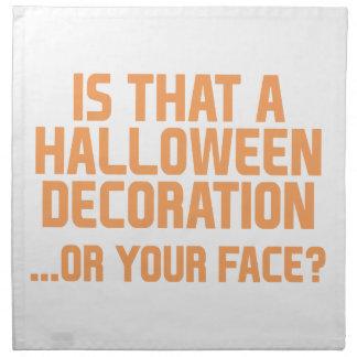Serviettes De Table Décoration de Halloween
