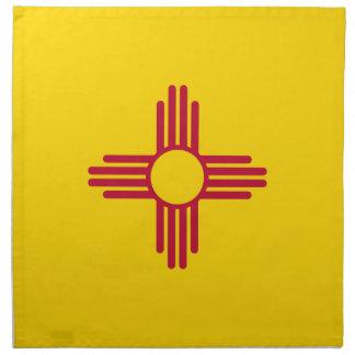 Serviettes De Table Drapeau du Nouveau Mexique