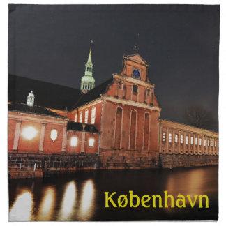 Serviettes De Table Église de Holmens (Kirke) à Copenhague, Danemark