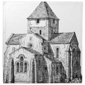 Serviettes De Table Église gothique chrétienne