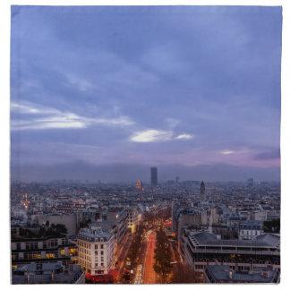 Serviettes De Table Eiffel tower