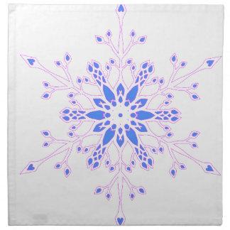 Serviettes De Table Flocon de neige
