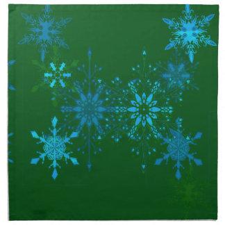 Serviettes De Table Flocons de neige