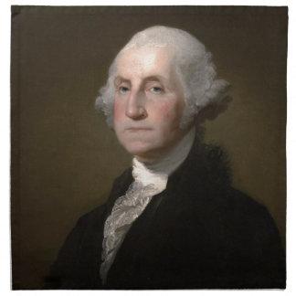Serviettes De Table George Washington - portrait vintage d'art
