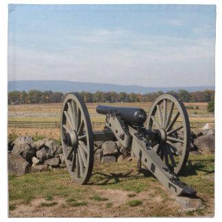 Serviettes De Table Gettysburg : Une vue de la charge de Pickett