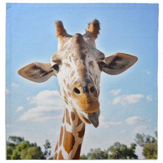 Serviettes De Table Girafe idiote