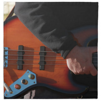 Serviettes De Table Guitare basse