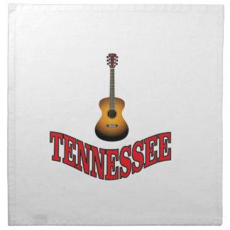 Serviettes De Table Guitare du Tennessee