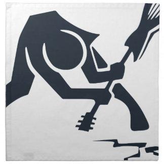 Serviettes De Table Guitare sensationnelle