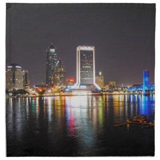 Serviettes De Table Horizon de nuit de Jacksonville