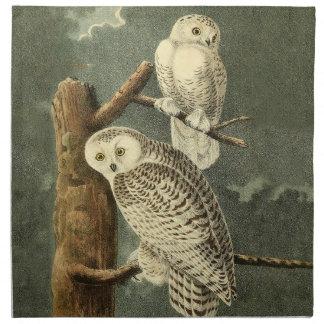 Serviettes De Table Illustration d'illustration d'art d'oiseau