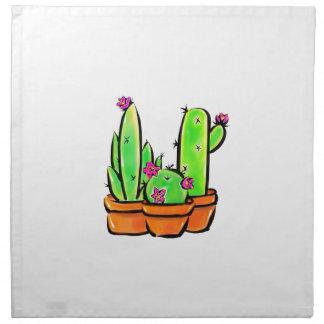 Serviettes De Table Joie de cactus - tonalité chaude