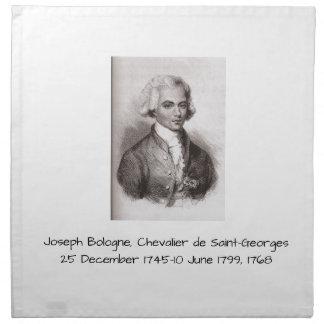 Serviettes De Table Joseph Bologne, Chevalier de Saint-Georges