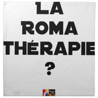 Serviettes De Table La Roma Thérapie - Jeux de Mots - Francois Ville
