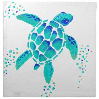 Serviettes De Table La tortue de Neptune