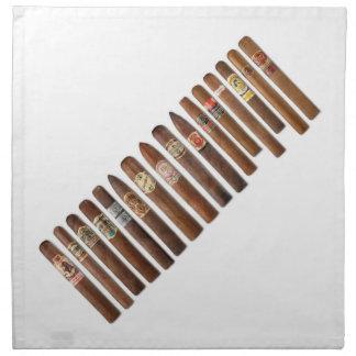 Serviettes De Table Le cigare rame //