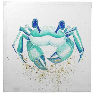 Serviettes De Table Le crabe de Neptune