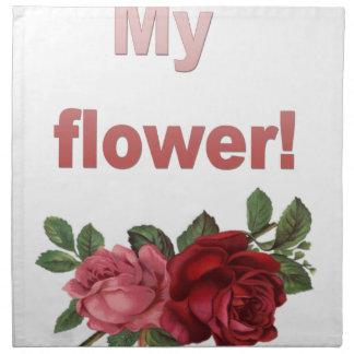 Serviettes De Table Minha Flor