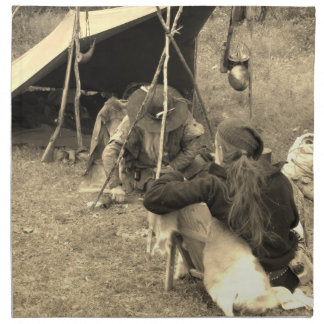 Serviettes De Table Montagnards au camp