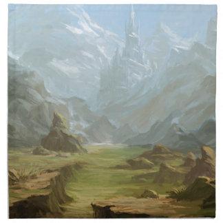 Serviettes De Table Montagnes et neige