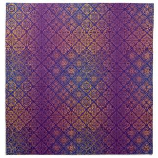 Serviettes De Table Motif antique royal de luxe floral
