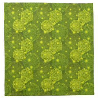 Serviettes De Table Motif de luxe floral de mandala
