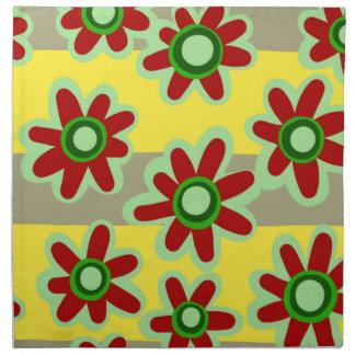 Serviettes De Table motif floral