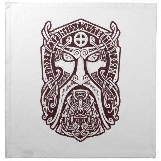 Serviettes De Table Odin font face