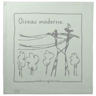 Serviettes De Table oiseau-madeinsylvie