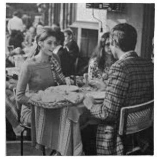Serviettes De Table Paris Bohême