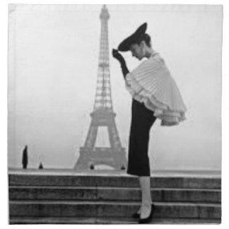 Serviettes De Table Paris Fashion