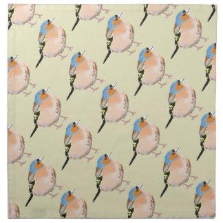 Serviettes De Table petit oiseau