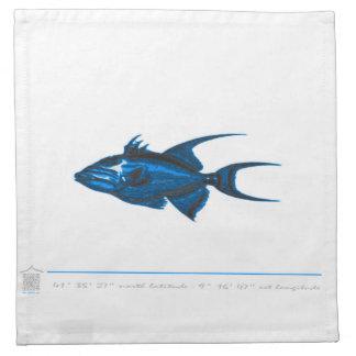 Serviettes de table poisson MAR2