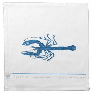 Serviettes de table poisson MAR3