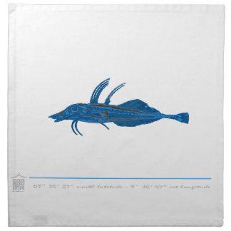 Serviettes de table poisson MAR5