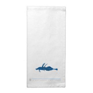 Serviettes de table poisson MAR5N