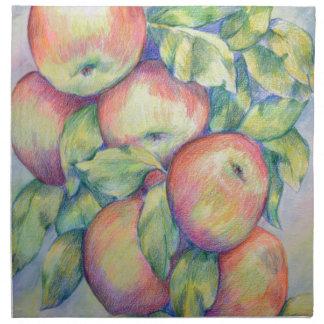 Serviettes De Table Pommes de colline de dépôt