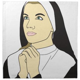 Serviettes De Table Prière de nonne