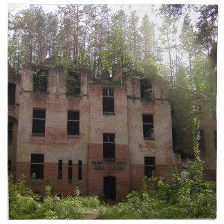 Serviettes De Table Ruine d'hôpital de Beelitz, Alpenhaus