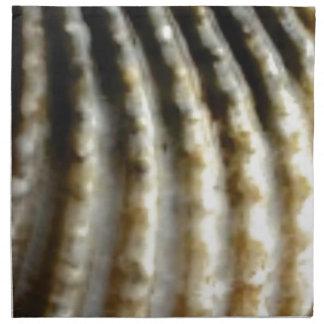 Serviettes De Table texture verticale d'ondulations